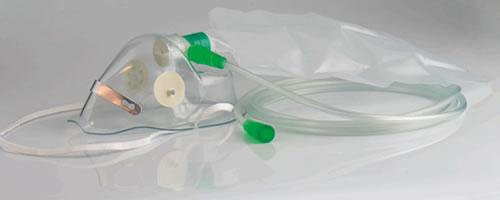 Oksijen Maskesi - Rezervuarlı
